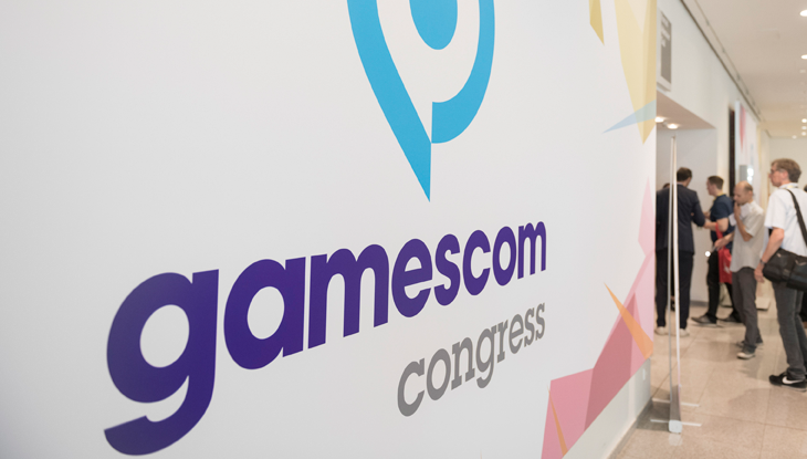 gamescom congress 2018, Eingangsbereich, Congress Centrum Nord